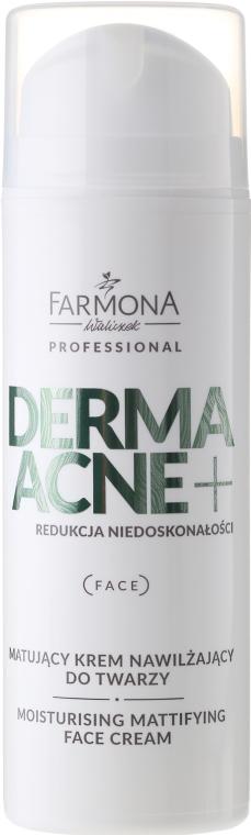 Crema viso opacizzante idratante - Farmona Dermaacne+ Moisturising Mattifying Face Cream