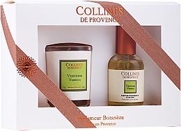 "Profumi e cosmetici Set regalo ""Verbena"" - Collines de Provence Verbena (cand/75g + parf/50ml)"