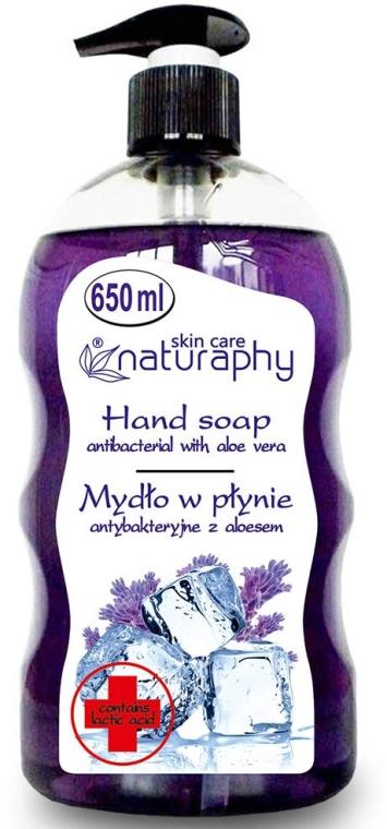 """Sapone antibatterico """"Lavanda"""" con estratto di aloe vera - Bluxcosmetics Naturaphy Hand Soap"""
