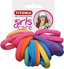Profumi e cosmetici Elastici per capelli, 16 pezzi, multicolore - Titania Girls Care