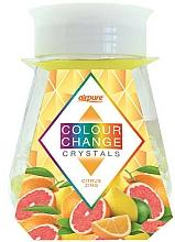 "Profumi e cosmetici Gel deodorante con cristalli ""Energia agrumata"" - Airpure Colour Change Crystals Citrus Zing"