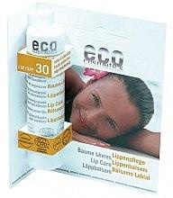 Profumi e cosmetici Balsamo labbra, SPF 30 - Eco Cosmetics Lip Care SPF 30