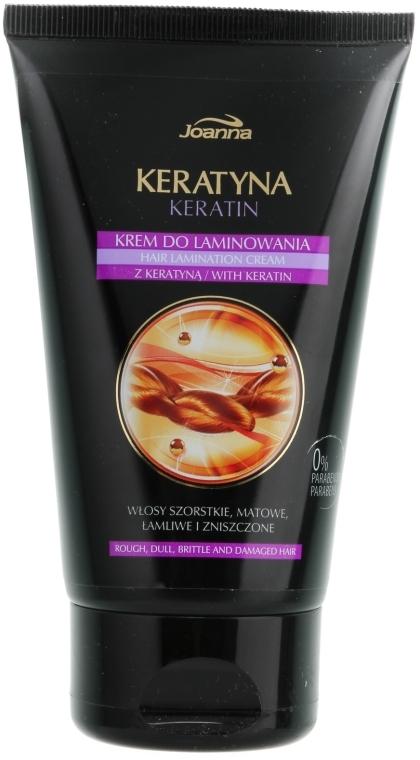 Crema per la laminazione dei capelli - Joanna Keratin Hair Lamination Cream — foto N1