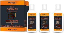Profumi e cosmetici Set - Prosalon Hot Therapy (mask/50ml + shm/50ml + cond/50ml)