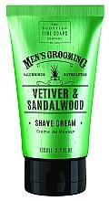 """Profumi e cosmetici Crema da barba """"Vetiver e legno di sandalo"""" - Scottish Fine Soaps Vetiver & Sandalwood Shave Cream"""