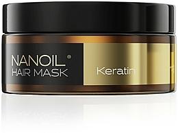 Profumi e cosmetici Maschera per capelli con cheratina - Nanoil Keratin Hair Mask