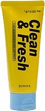 Profumi e cosmetici Maschera illuminante - Eunyul Clean & Fresh Pure Brightening Peel Off Pack
