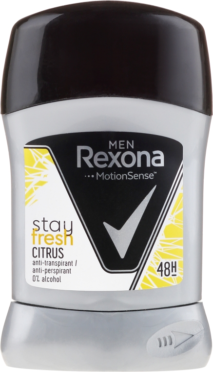 Deodorante stick - Rexona Men MotionSense Stay Fresh Citrus Deodorant Stick — foto N1