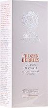 """Profumi e cosmetici Maschera vitaminica per capelli grassi """"Bacche congelate"""" - Natura Siberica Copenhagen Frozen Berries Vitamin Hair Mask"""