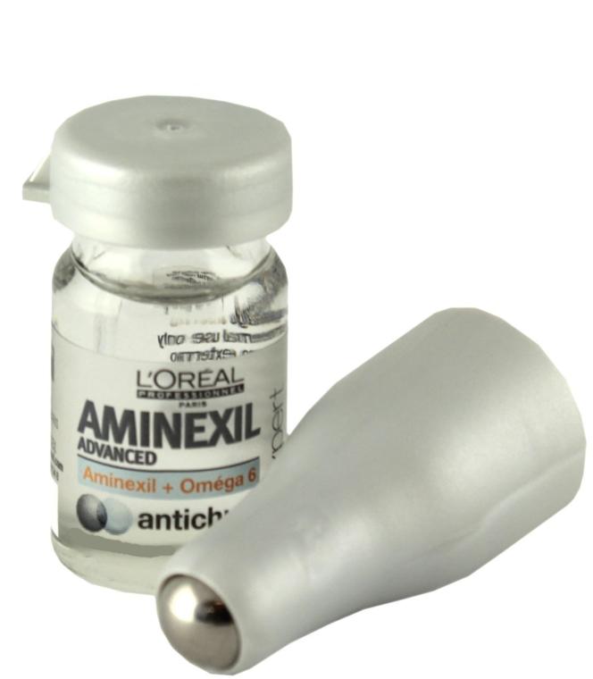 Trattamento per la caduta dei capelli + rullo - L'Oreal Professionnel Aminexil + Omega-6 10x6ml