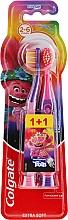 """Profumi e cosmetici Spazzolino da denti per bambini """"Smiles"""", 2-6 anni, viola-rosa, extra morbido - Colgate Smiles Kids"""