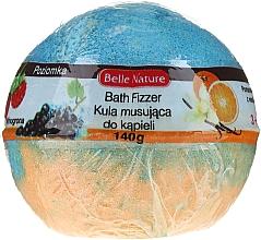 Profumi e cosmetici Bomba da bagno, arancio-blu - Belle Nature Bath Fizzer