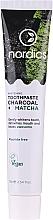 Profumi e cosmetici Dentifricio sbiancante con carbone e matcha - Nordics Whitening Charcoal Matcha Tooshpaste