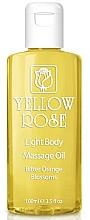Profumi e cosmetici Burro corpo - Yellow Rose Light Body Massage Oil Bitter Orange Blossoms