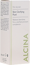 Profumi e cosmetici Fluido detergente per la pelle grassa - Alcina FM Skin Clarifying Fluid