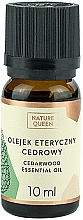 Profumi e cosmetici Olio essenziale ''Cedro'' - Nature Queen Essential Oil Cedarwood