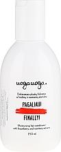 Profumi e cosmetici Balsamo capelli idratante con mirtillio rosso e rosmarino - Uoga Uoga Moisturising Hair Conditioner