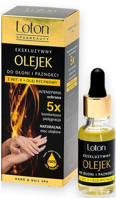 Burro per mani e unghie con vitamina E - Loton Exclusive Hand And Nail Oil With Vit. E