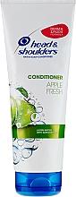 """Profumi e cosmetici Balsamo per capelli antiforfora """"Freschezza delle mele"""" - Head & Shoulders Apple Fresh"""