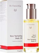 Profumi e cosmetici Olio corpo - Dr. Hauschka Rose Nurturing Body Oil