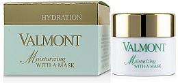 Profumi e cosmetici Maschera viso idratante - Valmont Moisturizing With A Mask