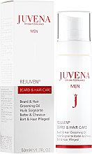 Profumi e cosmetici Olio barba e capelli - Juvena Rejuven Men Beard & Hair Grooming Oil