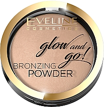 Profumi e cosmetici Cipria abbronzante - Eveline Cosmetics Glow & Go Bronzing Powder