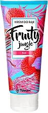 """Profumi e cosmetici Crema mani """"Litchi"""" - Farmapol Fruity Jungle Hand Cream"""
