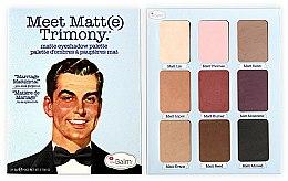 Profumi e cosmetici Palette ombretti - TheBalm Meet Matt(e) Trimony Matte Eyeshadow Palette