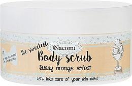 """Profumi e cosmetici Scrub corpo """"Sorbetto all'arancia"""" - Nacomi Sunny Orange Sorbet Body Scrub"""