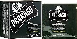 Profumi e cosmetici Salviette viso rinfrescanti - Proraso Cypress & Vetyver Refreshing Tissues