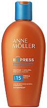 Profumi e cosmetici Latte solare per accelerare l'abbronzatura - Anne Moller Express Sunscreen Body Milk SPF15