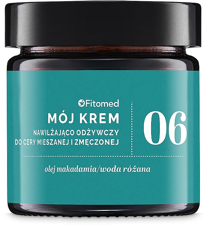 Crema all'olio germe di grano - Fitomed Cream With Wheat Germ Oil Nr6 — foto N1