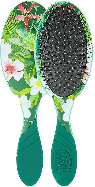 Spazzola per capelli - Wet Brush Pro Detangler Neon Floral Tropics