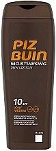 Profumi e cosmetici Lozione idratante corpo - Piz Buin Sun Moisturising Sun Lotion SPF10