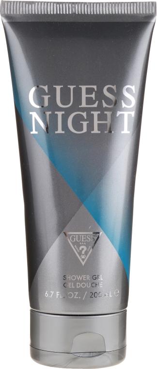 Guess Night - Zestaw (edt/100ml + sh/gel/200ml + deo/226ml) — foto N2