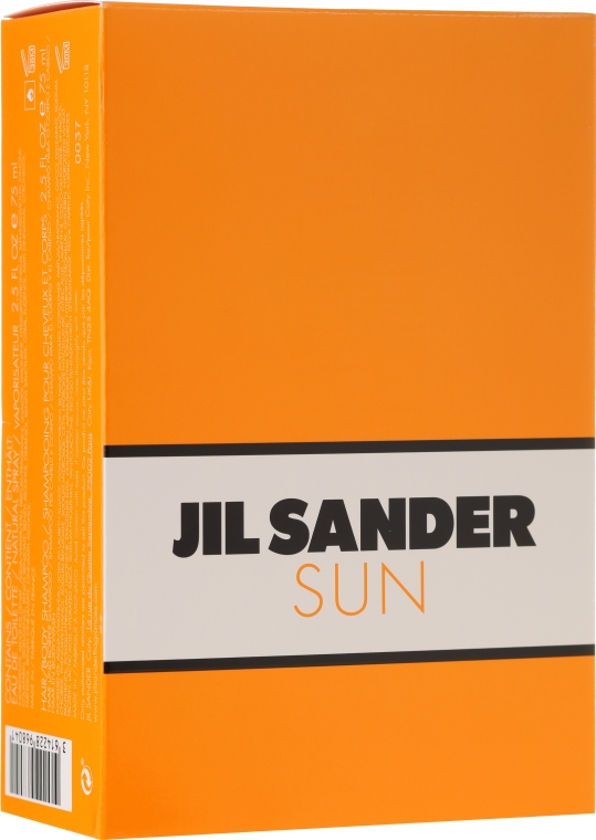 Jil Sander Sun - Set (edt/75ml + sh/gel/75ml) — foto N1