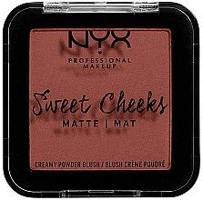 Profumi e cosmetici Blush opaco - NYX Professional Makeup Sweet Cheeks Matte Blush