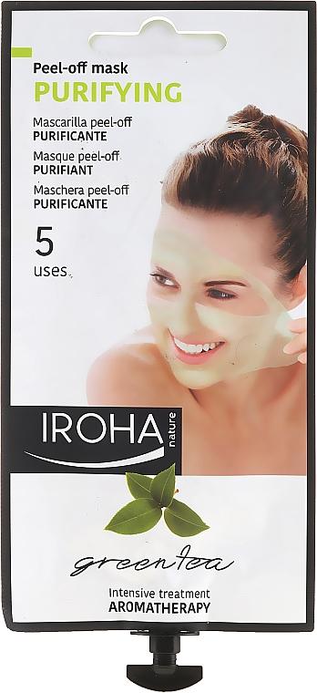 Maschera viso - Iroha Nature Green Tea Purifying Peel-Off Mask — foto N1