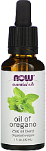 "Profumi e cosmetici Olio essenziale ""Miscela di olio di origano al 25%"" - Now Foods Essential Oils Oil of Oregano Blend"