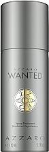 Profumi e cosmetici Azzaro Wanted - Deodorante-spray