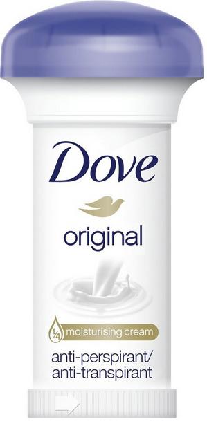 """Antitraspirante-crema """"Bellezza e cura"""" - Dove Original Deodorant Cream"""