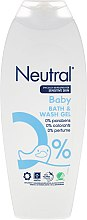 Gel da bagno per bambini - Neutral Baby Bath & Wash Gel — foto N1