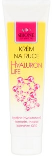 Crema mani - Bione Cosmetics Hyaluron Life Hand Cream With Hyaluronic Acid — foto N1