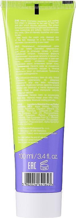 Crema per piedi - Vollare Cosmetics De Luxe Ultra Nutrition Oile&Urea Foot Cream  — foto N2