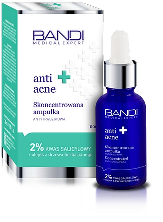 Fiala concentrata anti-acne - Bandi Medical Expert Anti Acne Concentrated Ampoule