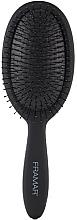 Profumi e cosmetici Spazzola districante, nera - Framar Detangle Brush Black To The Future