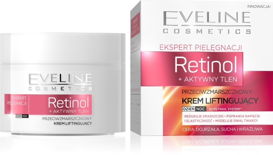 Crema antirughe - Eveline Cosmetics Skin Care Expert Retinol Lifting Cream