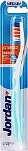 Profumi e cosmetici Spazzolino denti medio Advanced, blu - Jordan Advanced Medium