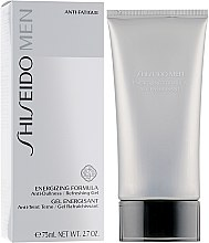 Profumi e cosmetici Gel dopobarba - Shiseido Men Energizing Formula Gel